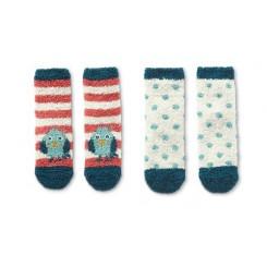 پک 2 عددی جوراب پشمی استپ دار بچه گانه چیبو | Tchibo
