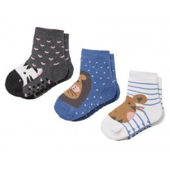 جوراب دوتایی ضدلغزش بچه گانه | Lupilu