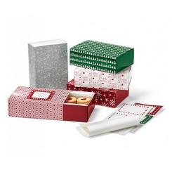پکیج 5 عددی باکس شیرینی کادویی چیبو | Tchibo