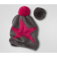 کلاه بافتنی طرح ستاره چند منظوره زنانه چیبو | Tchibo