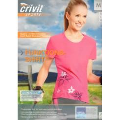تیشرت طرح دار ورزشی زنانه کریویت | Crivit