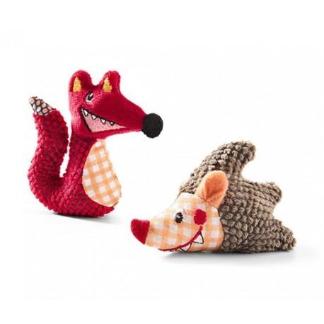 پک 2 عددی عروسک مراقبت از دندان گربه چیبو   Tchibo