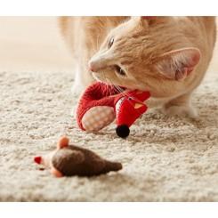 پک 2 عددی عروسک مراقبت از دندان گربه چیبو | Tchibo