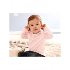 پک دو تایی تیشرت نخی نوزادی دخترانه چیبو