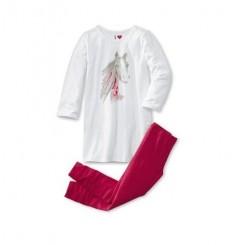 ست تیشرت و لگ دخترانه چیبو | Tchibo