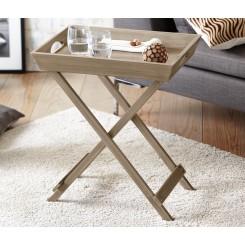 میز تاشو چوبی 2 در 1 چیبو | Tchibo