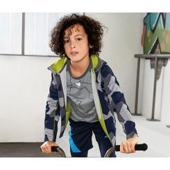 تیشرت ورزشی آستین بلند پسرانه چیبو | Tchibo