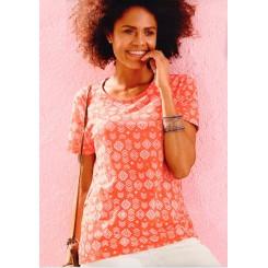 تیشرت طرح دار زنانه چیبو | Tchibo