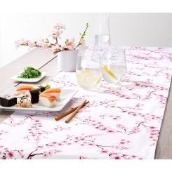 رانر رومیزی با طرح شکوفه های گیلاس چیبو | Tchibo