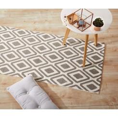 قالیچه جاجیم طرح لوزی چیبو |Tchibo