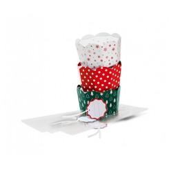 باکس کادویی مقوایی شیرینی چیبو | Tchibo