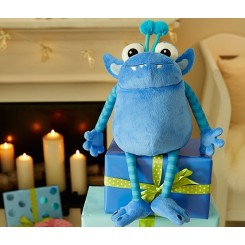 عروسک هیولای آبی بغلی چیبو |Tchibo