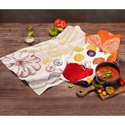 ست 3 تکه پارچه خشک کننده ظروف چیبو | Tchibo