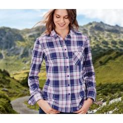 پیراهن نخی چهارخونه زنانه چیبو | Tchibo