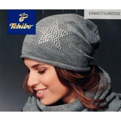 کلاه بافت طرح دار زنانه چیبو | Tchibo